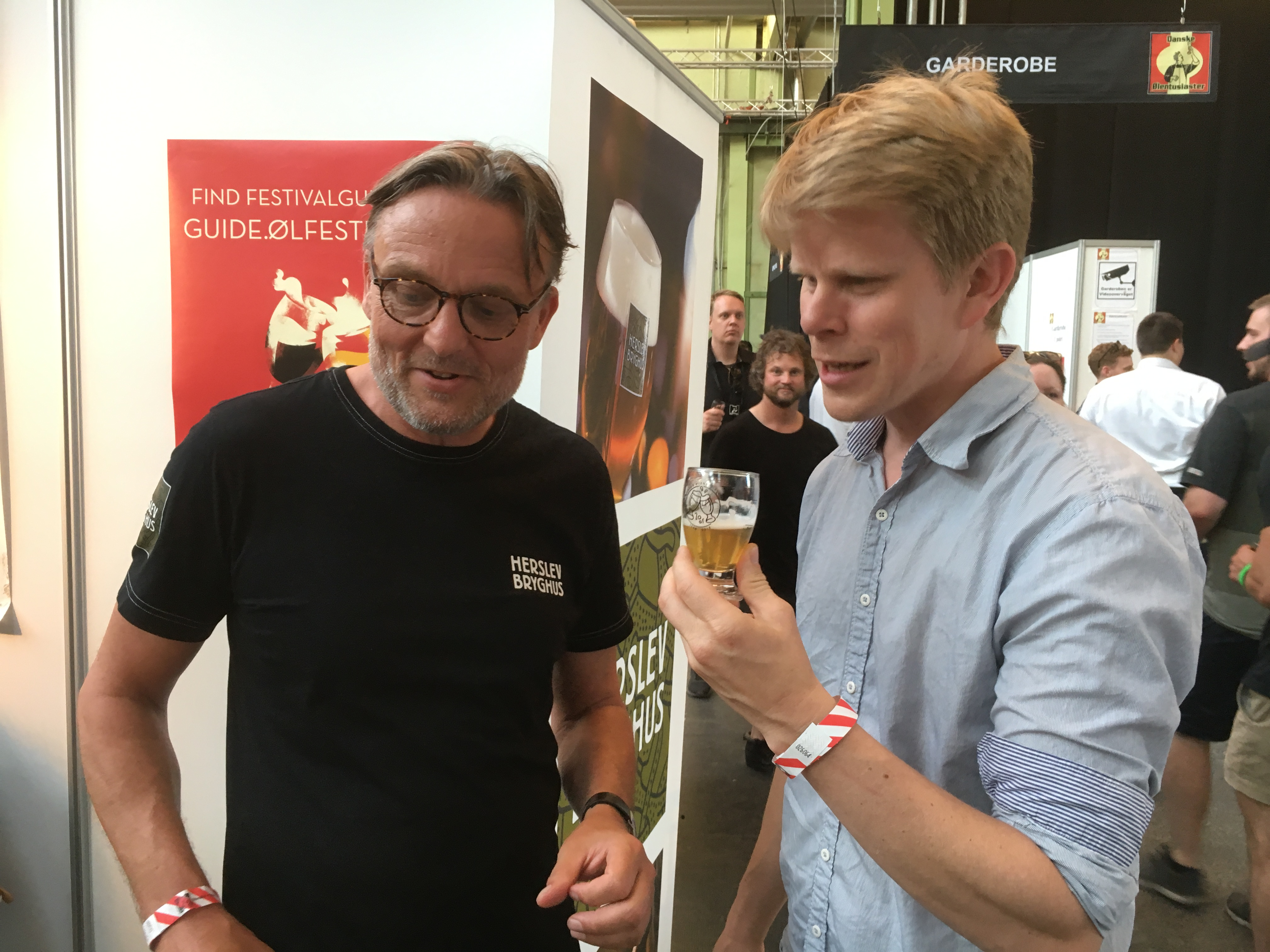 Andreas Högfeldt finner en god øl