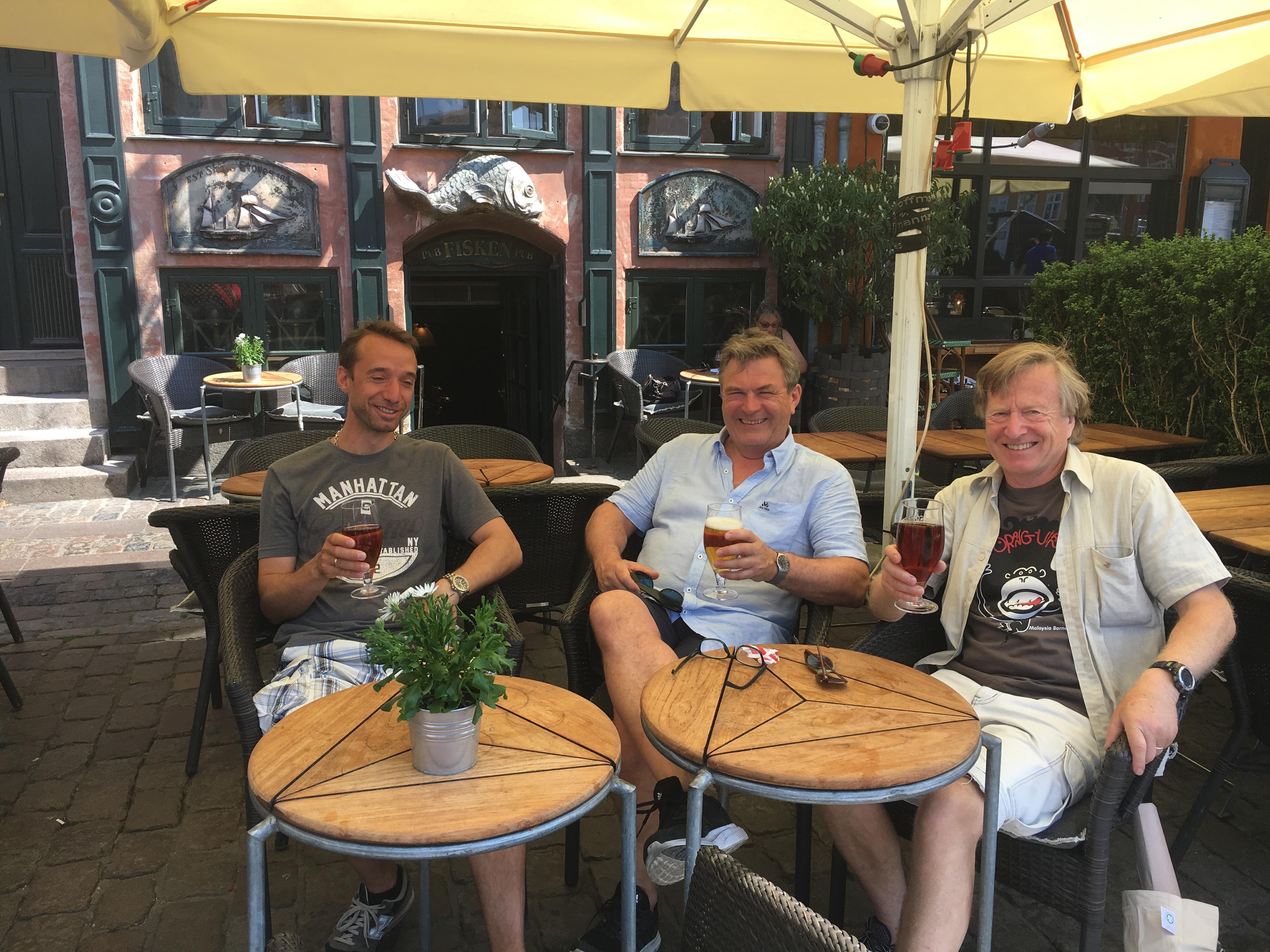 Svein Fugelsnes, Einar Michelsen og dommer Arne Mo